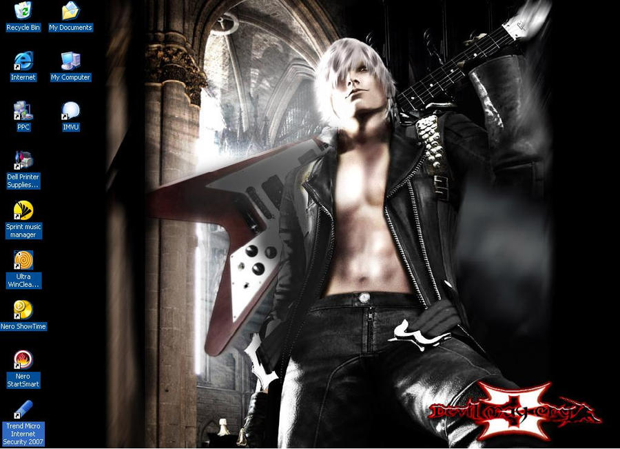 Black Dante Wallpaper by KitsunaKitsuda