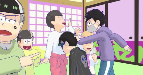 MMDxOsomatsu-San wtf are you doing!?