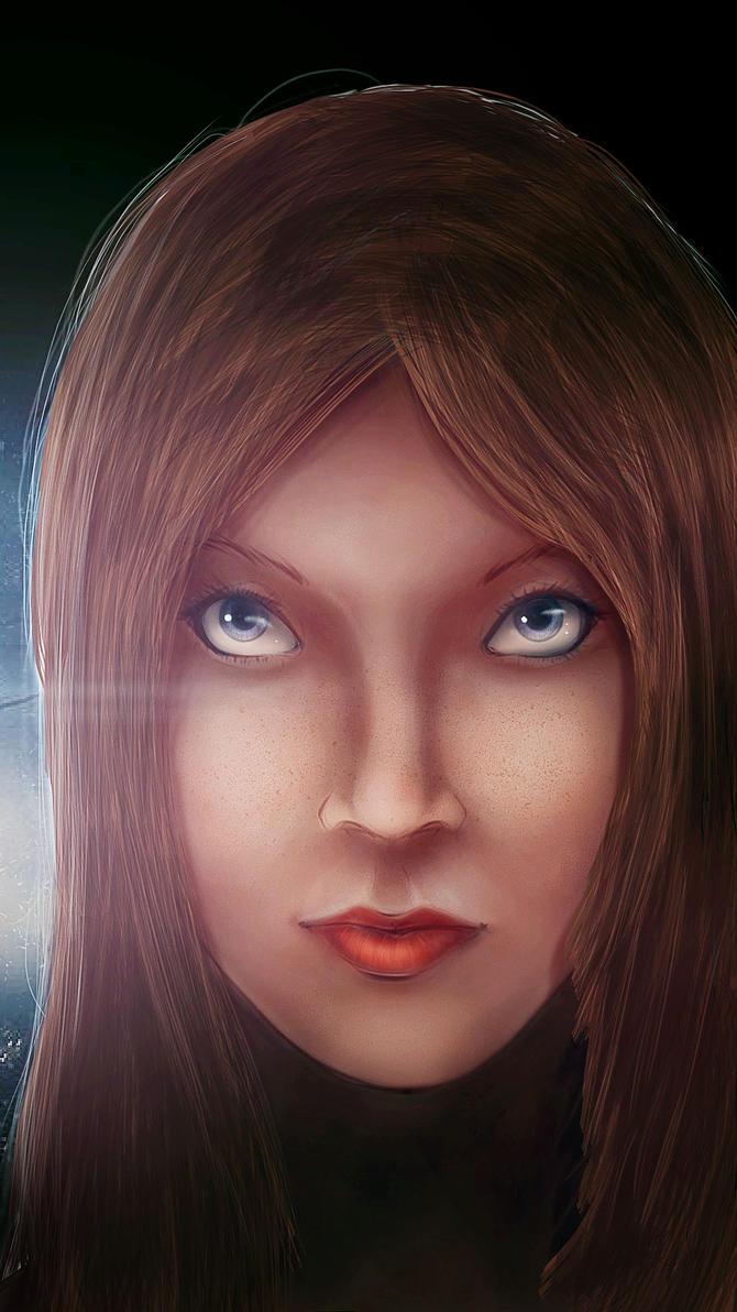 Those blue eyes by foxalex
