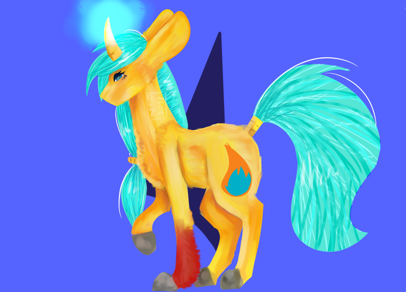 Ado Fire And Water Unicorn 50 Points By Lakigriff On Deviantart