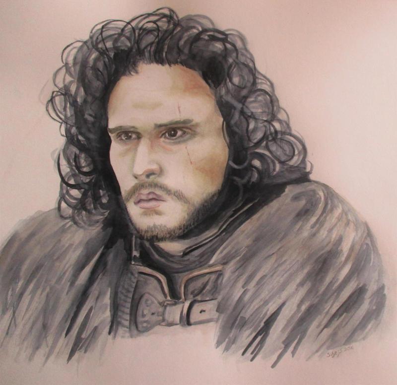 Jon Snow by Sverdlilje