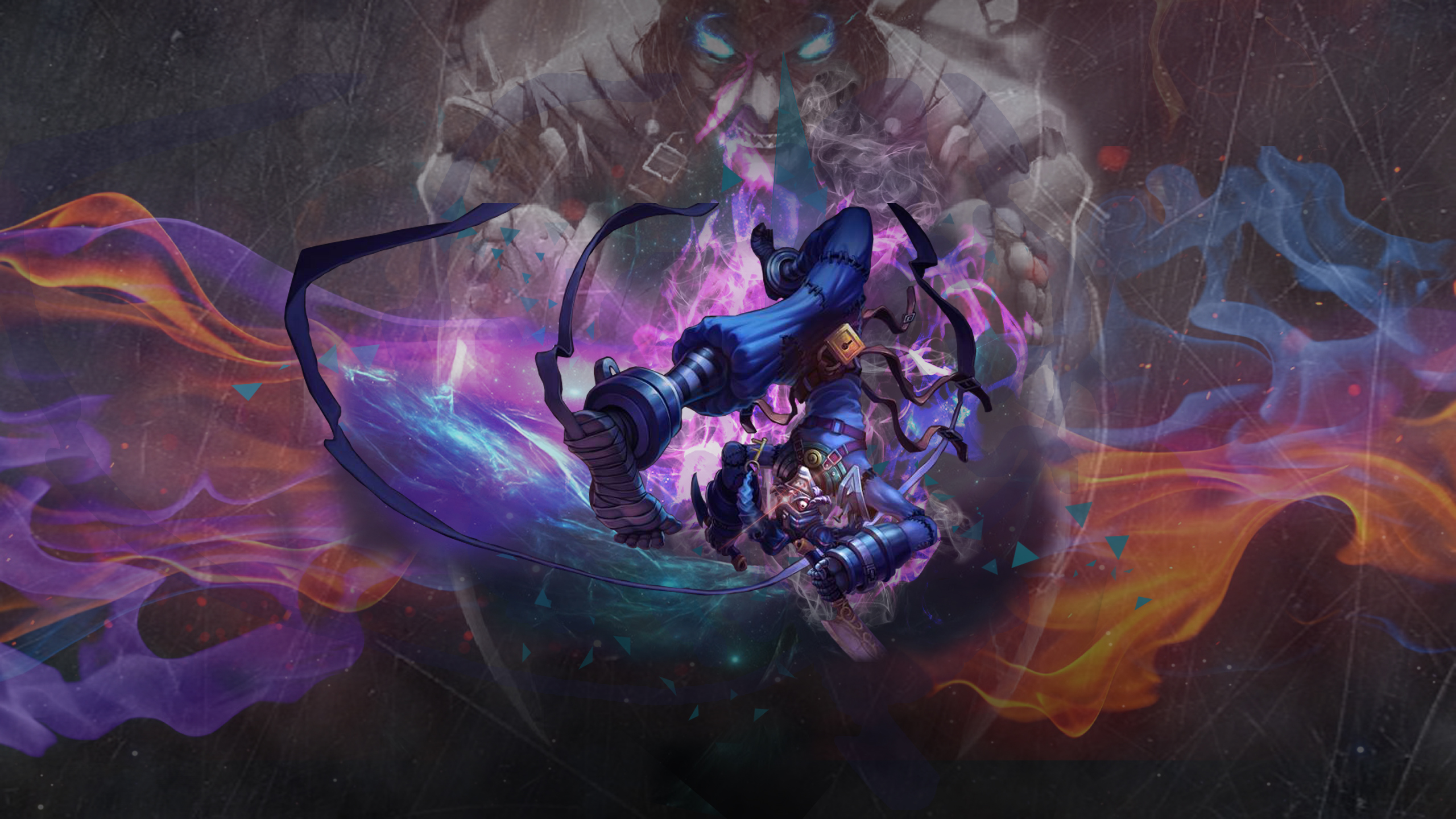 League of Legends|Asylum Shaco|Wallpaper by Prowto on ...
