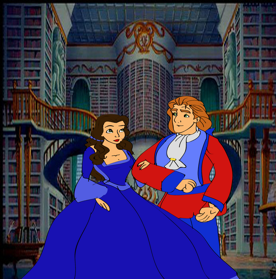 Princess Belle And Prince Adam Beauty And The Beast Gohana