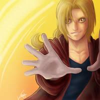 Fullmetal: Edward Elric by RedWyvern