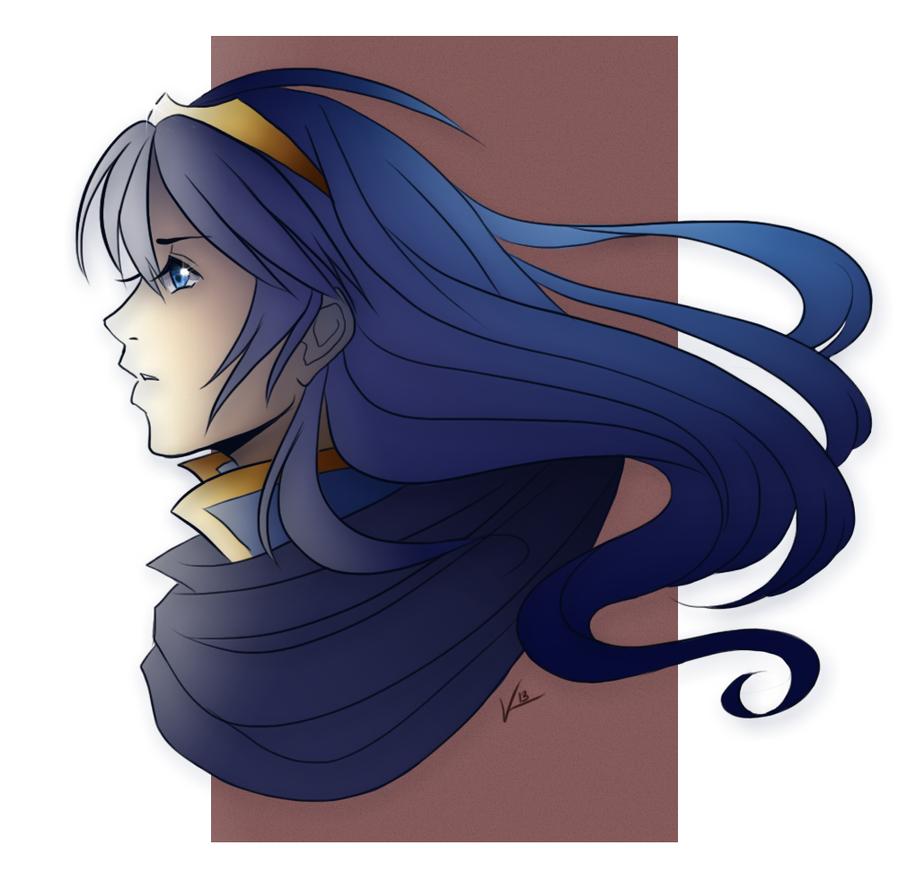 Fire Emblem: Lucina by RedWyvern