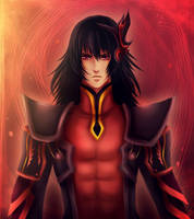 King Gaius by RedWyvern