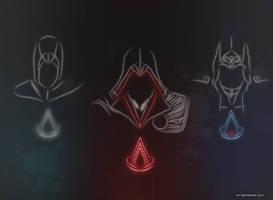 Light Assassins by WhiteRave