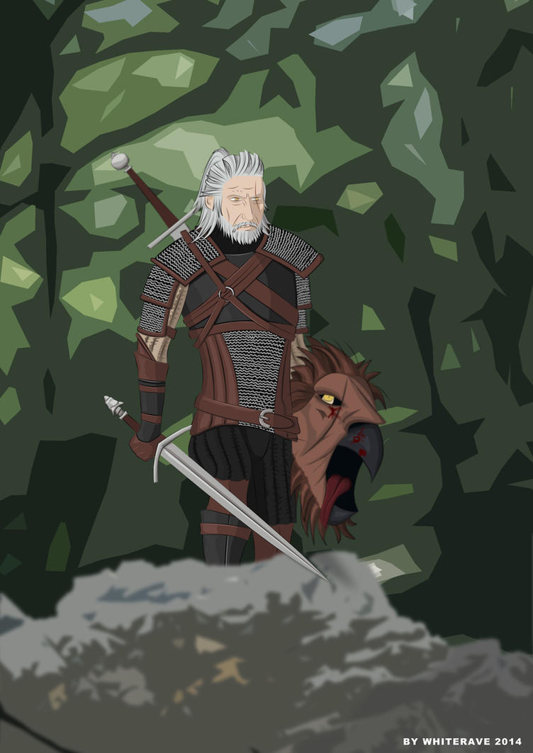 Geralt's Hunt by WhiteRave