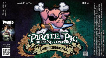 Pirate Pig - Landlubber Ale by misfit1138