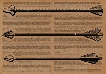Arrow Concepts 1-3 by nemaakos