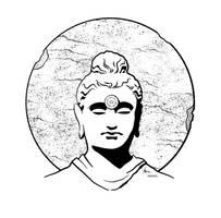 Nastar Monk Statue