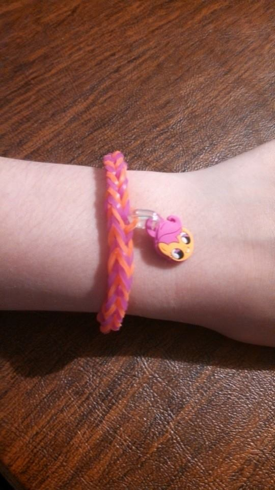 Rainbow Loom MLP Scootaloo Fishtail - FOR SALE by AuroraAurion