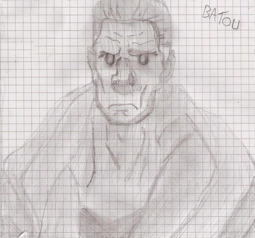 Batou Sketch By Drwr On DeviantArt