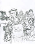 Wolverine BBQ by JohnsDead