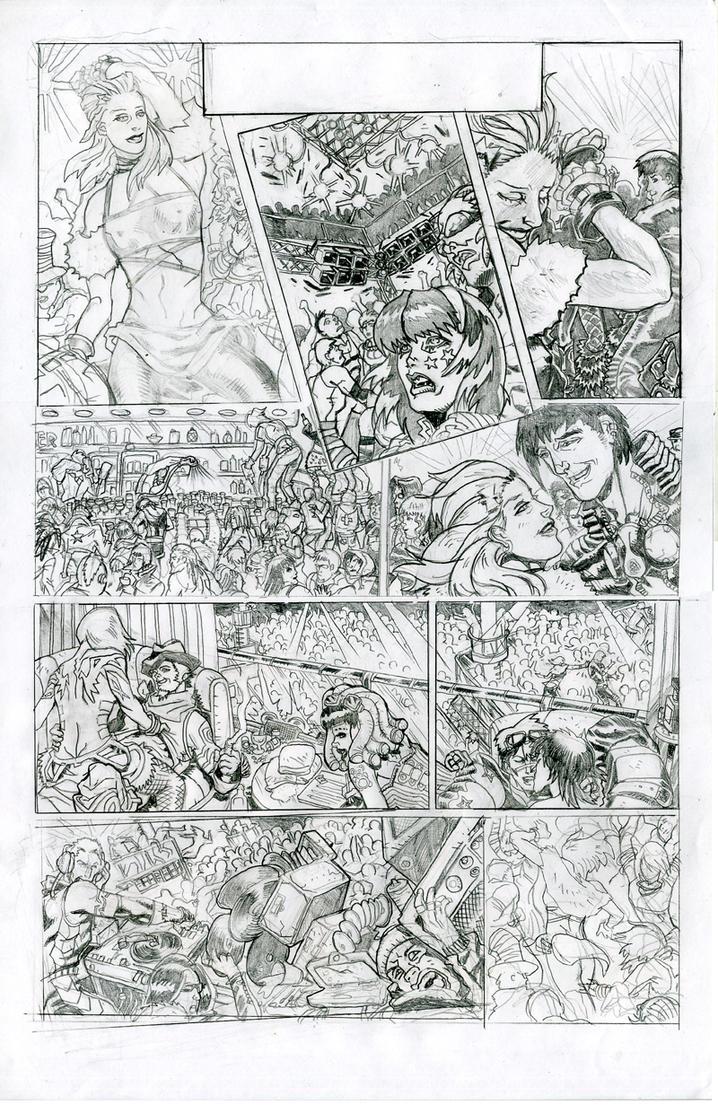 Last Dance pencils p.1 of 2 by JohnsDead