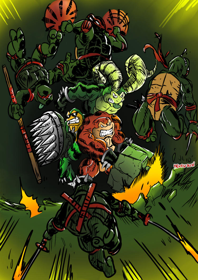 Tmnt vs.Battletoads by JohnsDead