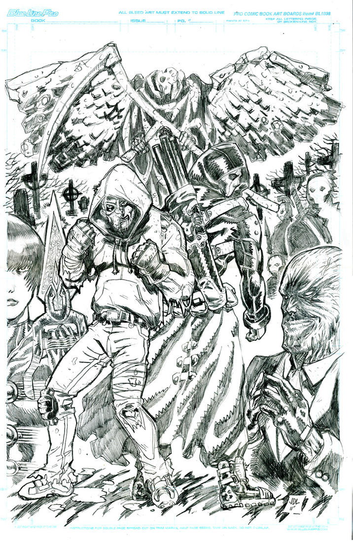 Reaper cover pencils by JohnsDead