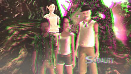 Sodality Season 1 Wallpaper 3D Trioscopic by BulldozerIvan