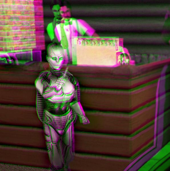 Pilltar 3D Green-Magenta by BulldozerIvan