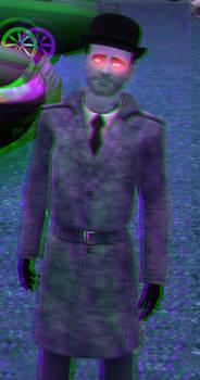 Don the Psycho 3D Green-Magenta