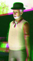 Imaki Izuki 3D Green-Magenta by BulldozerIvan