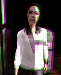 Miranda Kanla 3D Green-Magenta by BulldozerIvan