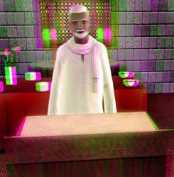 Wilbur Brocklyn 3D Green-Magenta by BulldozerIvan