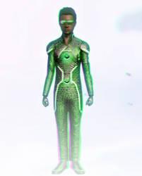 Emeraldon 3D Green-Magenta by BulldozerIvan