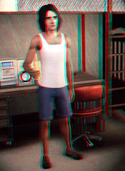 Jack Mercreek 3D Red-Cyan by BulldozerIvan