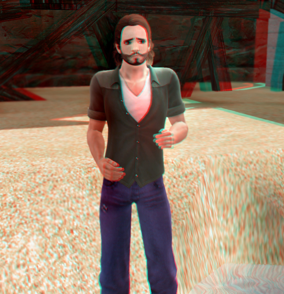 Ron Barrin 3D Red-Cyan