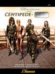Centipede + 49 Front Cover by BulldozerIvan
