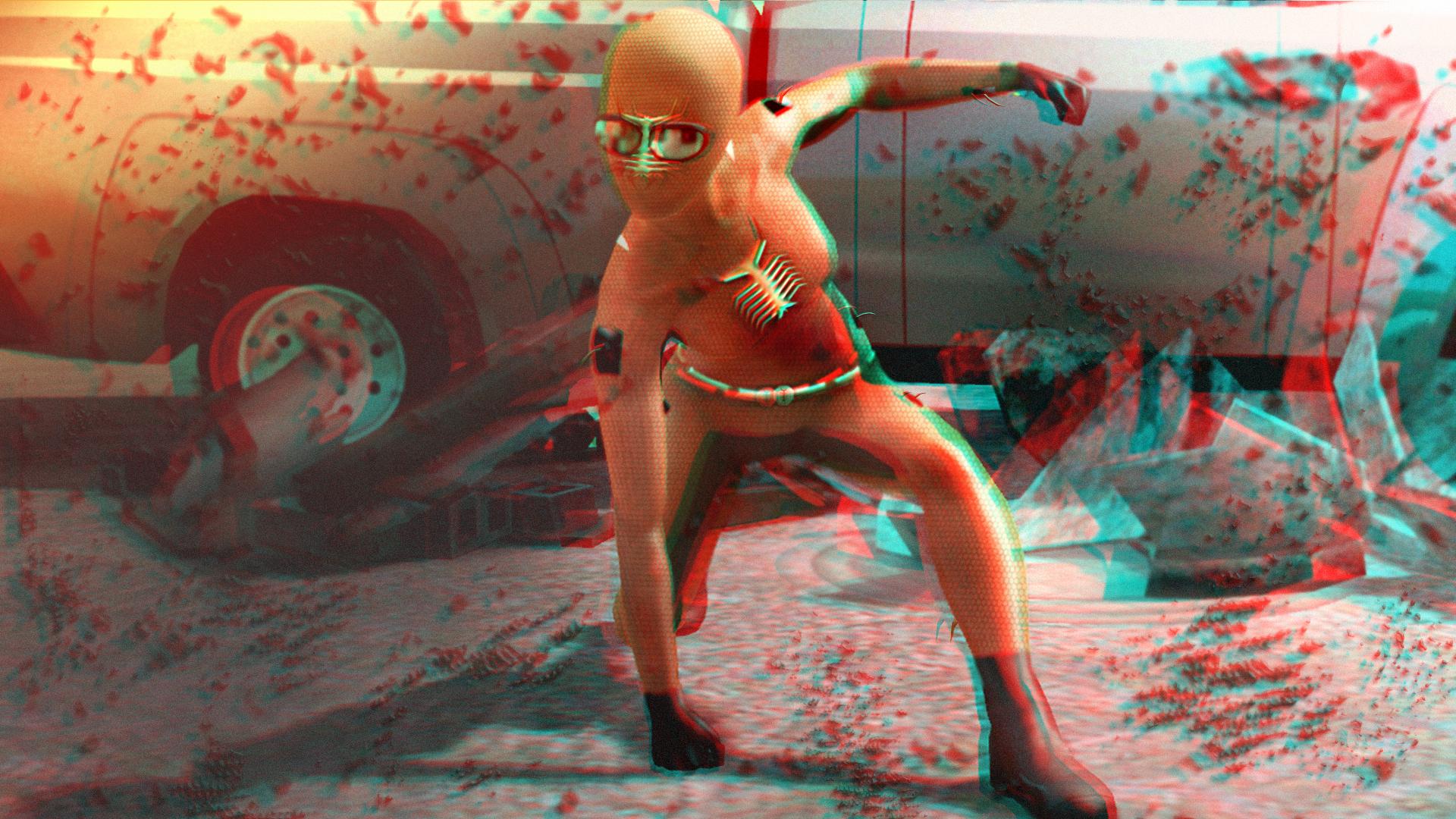 Safe Landing 3D Red-Cyan