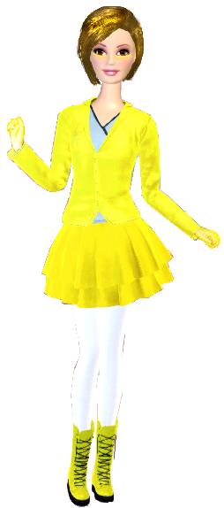 Lemon Witch - Barbie Style