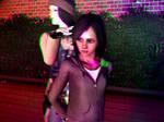 Candi's First Arrest in Trioscopics 3D
