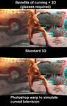 Curved vs Standard 3D