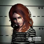 Anna gritty mugshot - GregTerry commission