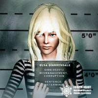 Elsa Gritty Mugshot - GregTerry commission by BulldozerIvan