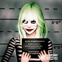Elsa Joker Mugshot by BulldozerIvan