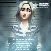 Elsa TS4 Mugshot - GregTerry commission by BulldozerIvan