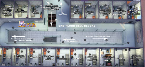 Camelorum 2nd Floor cell blocks by BulldozerIvan
