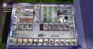 Camelorum 1st floor diagram