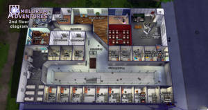 Camelorum 2nd floor diagram