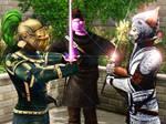 Knight vs. Samurai