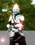 Masato Yoneda, the Spectral Hare Samurai