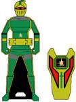 Gokaiger Golden Lion Cortascian Knight Key