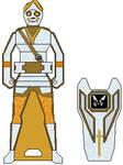 Gokaiger Spectral Hare Cortascian Samurai Key