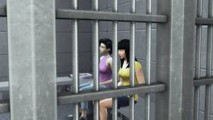 Trini in the Holding Cell