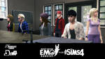 Emo Rangers for The Sims 4 download (coming soon)