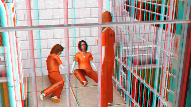 Oblivious to the TV 3D Red-Cyan