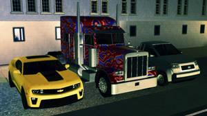 TS3 Transformers Wallpaper